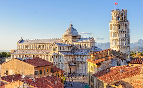Rooftops of Pisa