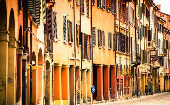 Street in Bologna