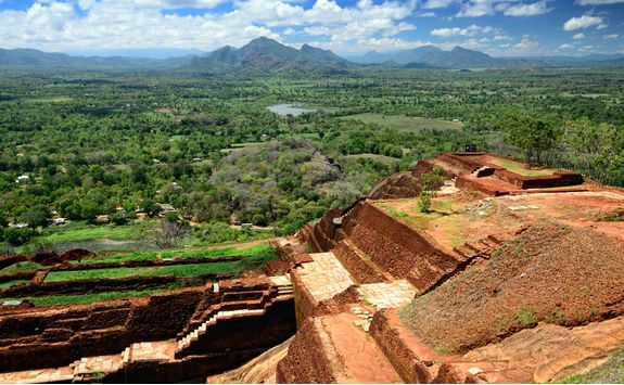 sigiriya view from the top