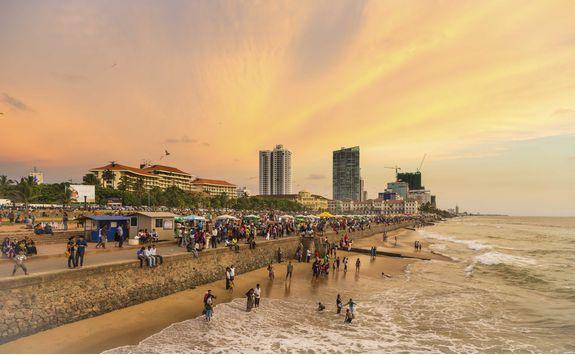 Beach in Colombo