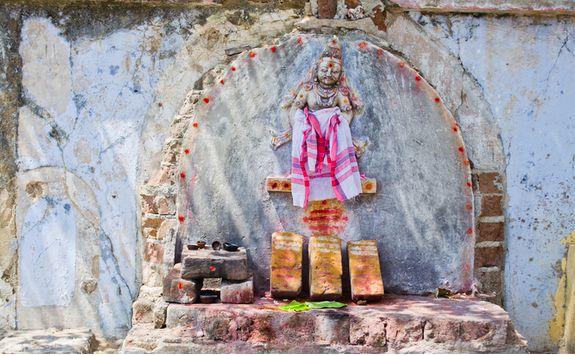 Pondicherry hindu shrine