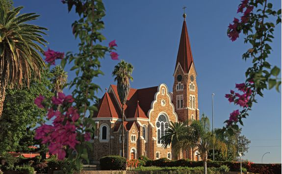 Christ Church exterior Windhoek