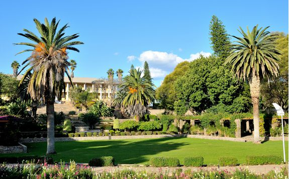Parliament gardens in Windhoek