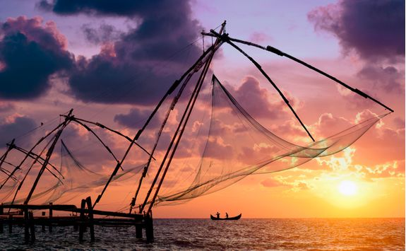 Cochin, fishing nets