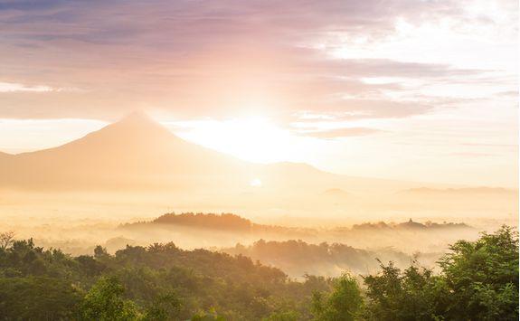 Volcano Menoreh Hills