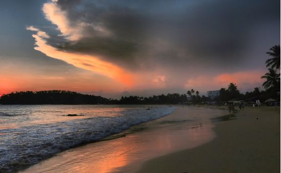 Sunset at the Beach, Sri lanka