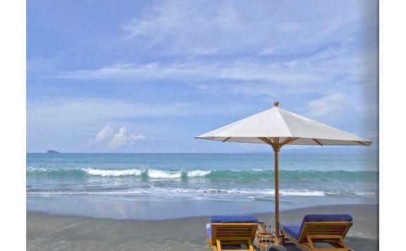 A beach scene in Bali
