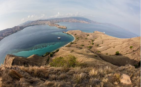 Mountains on Komodo island