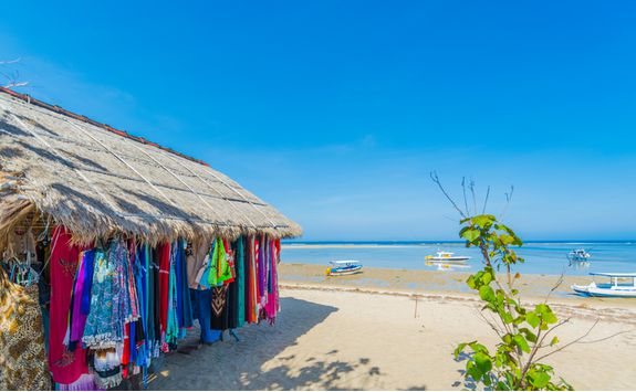 A beach shop in Seminyak