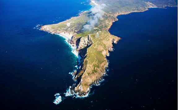 cape point aerial view