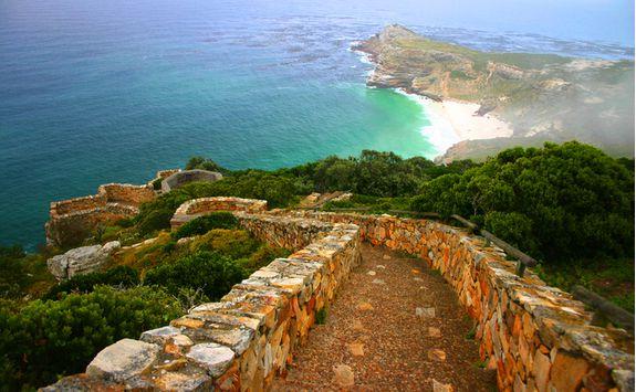 Cape point ocean