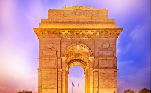 New Delhi arch