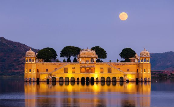 Floating Palace in Jaipur