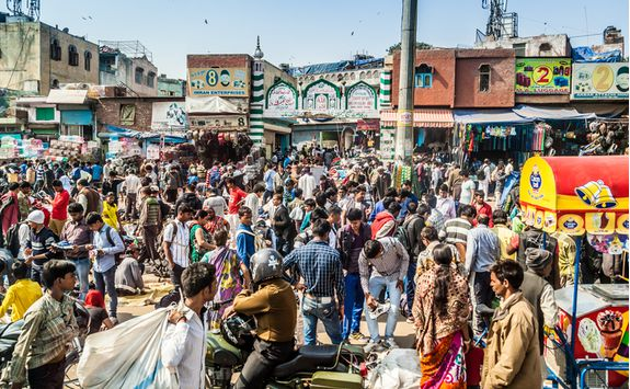 Old Delhi market