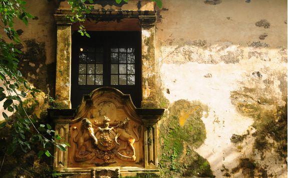 A doorway in Galle