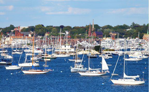 Newport Habour, Rhode Island