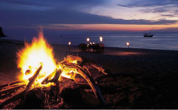 Campfire in Tanzania