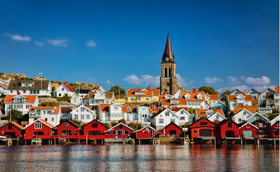 Fjällbacka fishing village