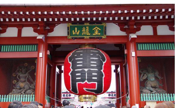 tokyo kaminarimon gate senso ji temple