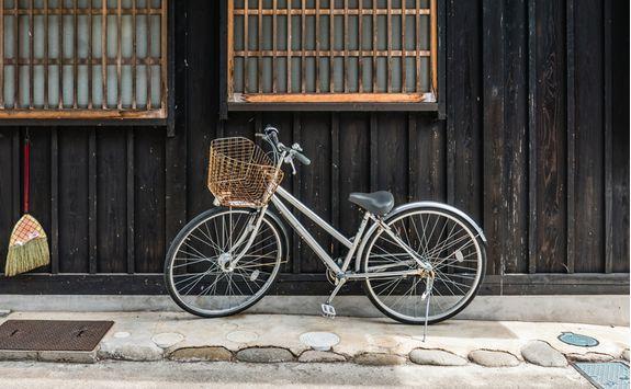 shirakawago bicycle