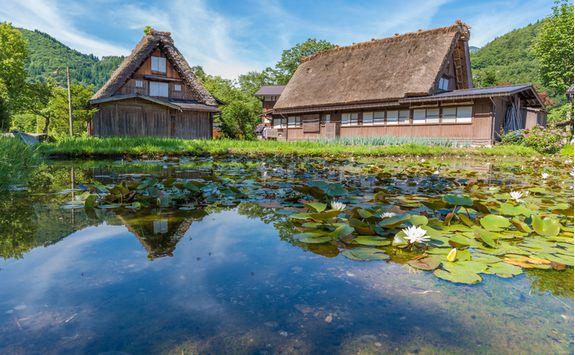 shirakawago gassho zukuri house