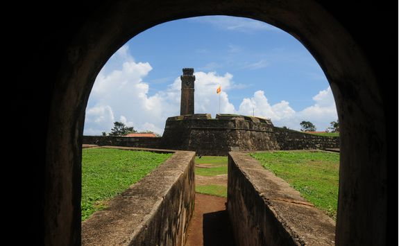 galle fort window
