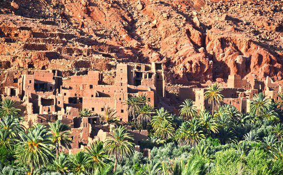 Morocco Atlas Berber village