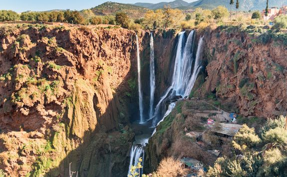Morocco Atlas waterfall