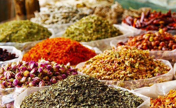Morocco spices