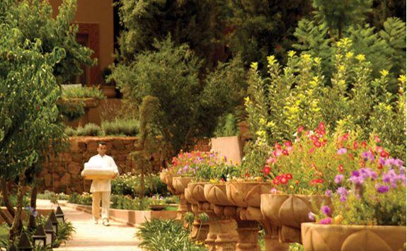 Morocco Kasbah Tamadot gardens