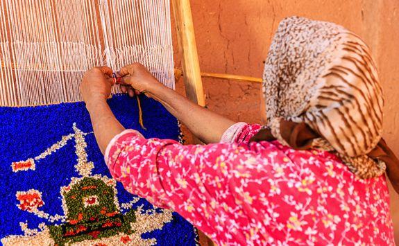 Morocco Atlas tapestry