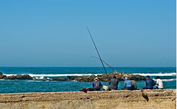 Morocco Essaouira fishing
