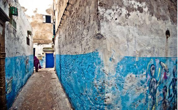 Morocco Essaouira streets