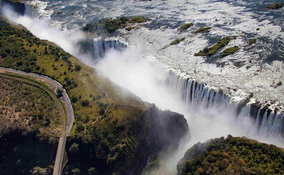 Victoria Falls ravine