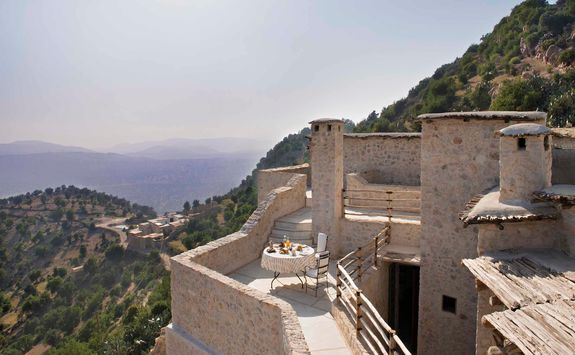 View from Maison des Arangiers