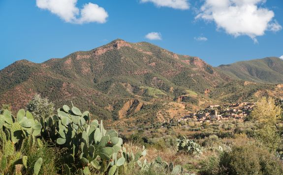 The Aragan Valley, Morocco