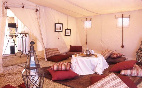 Tent at Dar Ahlam Desert Camp