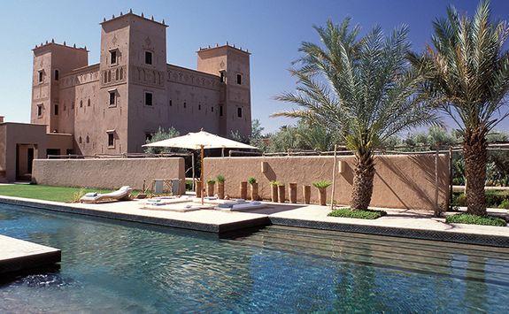 Pool at Dar Ahlam