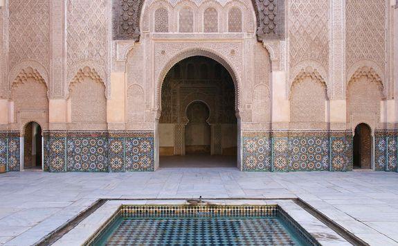 Pool in Marrakech