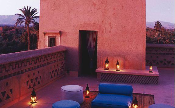Terrace at Dar Ahlam