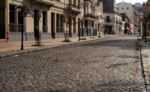 A street in San Telmo