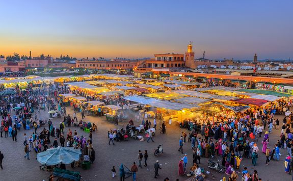 Evening Market Marrakech