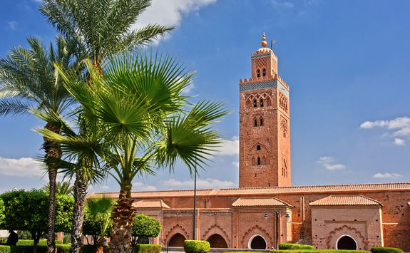 Exterior of Koutoubia Mosque