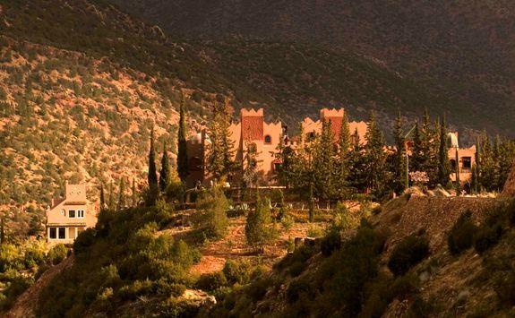 Exterior of Kasbah Tamadot