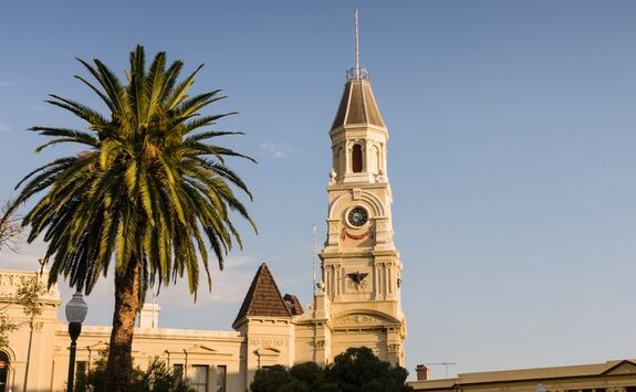 Clock Tower in Fremantle