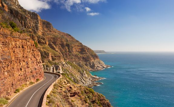 Road at Cape Peninsula