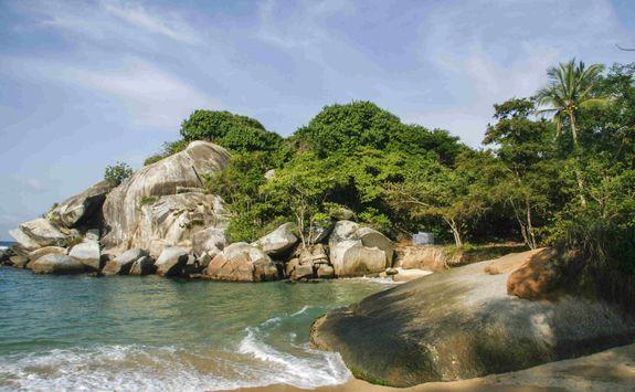 Tayrona coastline