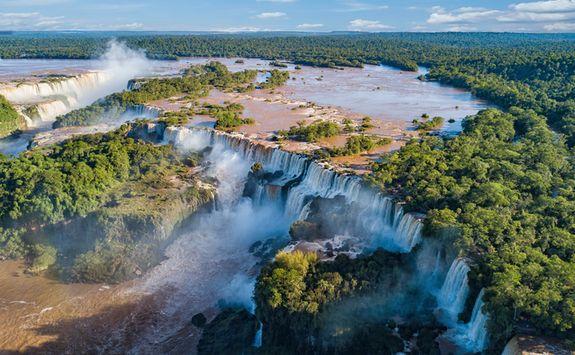 Iguazu Falls overview