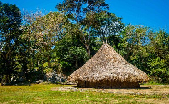 Traditional Kogi house