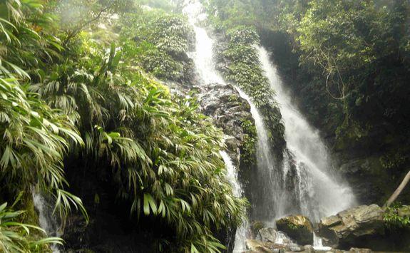Waterfall in Tayrona National Park